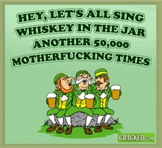If St. Patrick's Day Had Greeting Cards #Irish #ThinLizzy
