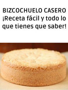 El bizvocho casero es la base de las mejores tortas ¡Si el bizcochuelo sale mas la torta no le va a gustar a nadie!  Este aspecto es muy importante aunque muchas reposteras lo subestiman.  Nuestro consejo desde QUIEROCAKES es que elabores un bizcocho de calidad para agregarle a tu torta el factor más importante para el éxito #quiero #quierocakesblog Cornbread, Vanilla Cake, Cupcake Cakes, Cake Recipes, Bakery, Deserts, Treats, Cookies, Ethnic Recipes