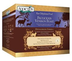 Addiction Pet Foods Fig'licious Venison Feast Dog Food * New and awesome product awaits you, Read it now  (This is an amazon affiliate link. I may earn commission from it)