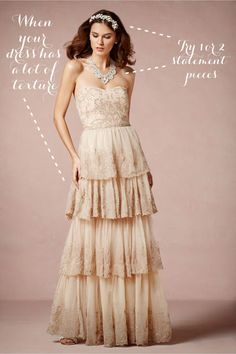 BHLDN antique tiers of lace.