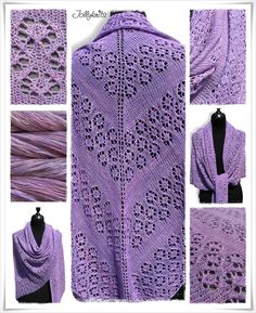 Strickanleitung Lace Tuch / Knitting pattern Lace Shawl