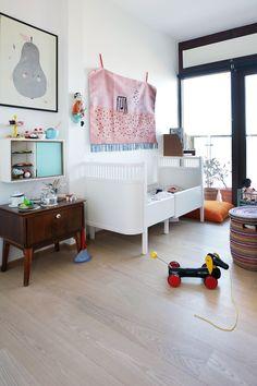 Dormitorio de bebé ecléctico | Decorar tu casa es facilisimo.com