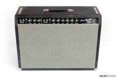 From the GearTunes library of tone ~ the Fender Pro Reverb (c. 1964) ~ click it to hear it :)