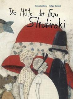 Mrs. Strubinski's Hats by Heinz Janisch   2013 년 출간, 32페이지, 5세 이상   스트루빈스키 할머니의 모자가게는 신비한 곳이다. 모든사람들이 꼭 필요로 하는 모자가 그곳에 있다. 미라는 할머니 가게에서 할머니와 함께 모자를 고르는걸 좋아한다. 미라와 할머니는 매일매일 기분에 맞는 모자를 쓴다. 그런데 어떤날은 아무런 모자도 내키지 않는 경우가 있다. 기분이 우울하거나 괜히 짜증이 나는 그런날 말이다. 그럴때면 할머니는 손녀 미라와 함께 가게밖으로 나간다. 바람에 머리카락을 내 맡긴다. 그렇게 있다보면 어느새 새로운 헤어스타일이 완성되고 서로의 헝클어진 머리를 보면 웃음이 터져 나온다. 세상에는 참 다양한 모자가 존재한다는 사실을 미라는 깨닫는다. 하인츠 야니쉬: 1960년 오스트리아의 부르겐란트에서 태어났다. 신문방속학과 독문학을 공부하고 오스트리아 라디오 방송국에서 기자 겸 진행자, 구성 작가로 활동하고 있다...