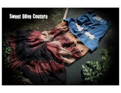 womens dress L bohemian floor length one of a kind by SweetOliveCouture, $64.00