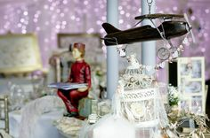 More travel inspired decorations for your wedding as seen at Stirk House