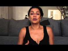 ▶ Face Yoga With Ranjana Khan - No botox needed, Ladies! She's 57 and has no wrinkles! Starting this now!