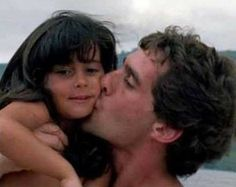 Ayrton with his niece Paula