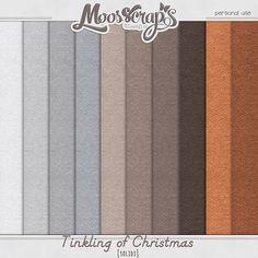 Digital Art :: Paper Packs :: Tinkling of Christmas - solids