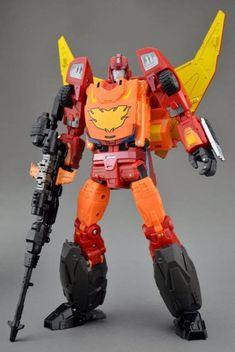 Transformers toy DX9 Soul Series K3 K03 LA HIRE Hot Rod Rodimus IN STOCK