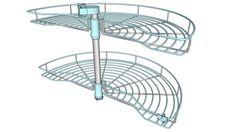 Cos rotativ semirotund cu ax tubular - 3D Warehouse
