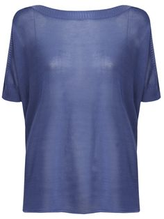 Soya knit top with dropped shoulders and short, slightly batwing sleeves - Soya! Komodo, Batwing Sleeve, Bat Wings, Ethical Fashion, Dress Me Up, Summer 2015, Women Wear, Organic, Knitting