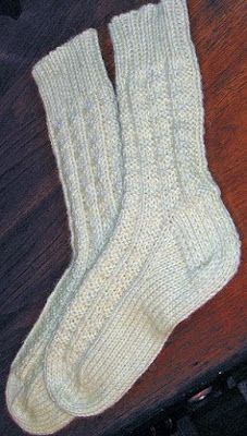 YARNGEAR: Knitting, Crochet, Spinning, Sewing, Weaving, and Dyeing: Sock in the New Year with a Pattern!