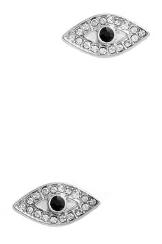 Checkout our #arrascreations product GEM PAVE EVIL EYE EARRINGS / AZERFH297-SCL. Buy now at http://www.arrascreations.com/gem-pave-evil-eye-earrings-azerfh297-scl.html