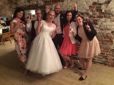 Mr. & Mrs. Jokinen�� Onnea, iloa ja rakkautta yhteiseen elämään❤️��#justmarried #wedding #entourage #love #tuplapyssyt #pose http://gelinshop.com/ipost/1519473427152248298/?code=BUWQQgPDh3q
