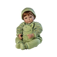 Adora 20 inches  Baby Boy Doll Froggy Fun Red Hair Green Eyes
