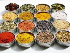 Indian Spice Kit with 16 exotic spices plus 4 recipes - gourmet cooking gift: Overview - Handmade item Materials: dried herbs, cardamom, fenugreek, ginger, star anise, mustard seeds, coriander and cumin seeds, fennel, curry, tandoori, garam masala, recipes, round tins Made to order Feedback: 1653, 100% positive. Ships from Boca Raton, Florida to select countries.This shop accepts Etsy Gift Cards