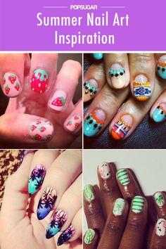 The best Summer nail art