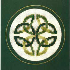 Celebrate the luck of the Irish with a Celtic Knot cross stitch chart.