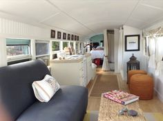 Couple-Convert-1993-School-Bus-Tiny Home-002