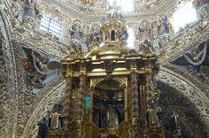 Capilla del Rosario in the Santo Domingo Church,