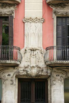 Art Nouveau architecture. Barcelona