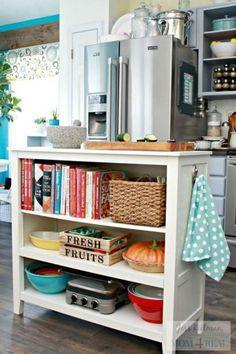 50 Creative Hack Small Apartment Kitchen Organizations