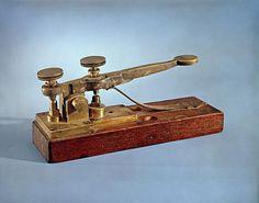 DC Photos: Take a Peek Inside the Smithsonian American History Museum: Morse-Vail Telegraph Key