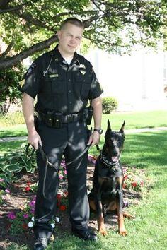 police doberman | ... Black Scorpion, Stinger, the newest member of Kingston police
