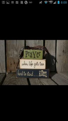 Prayer blocks<3