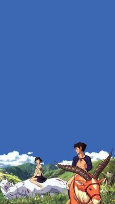 [아이폰 배경화면]# 15 Tekenthema :: Ghibli Collection: Naver ¸ . - My Bilder Totoro, Studio Ghibli Art, Studio Ghibli Movies, Hayao Miyazaki, Film Anime, Anime Art, Animes Wallpapers, Cute Wallpapers, Princess Mononoke Wallpaper