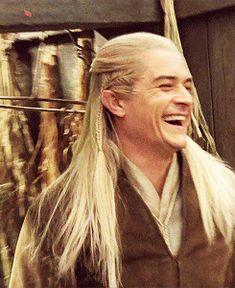 laughing Legolas @Brynn Shepherd Clark (lovely)