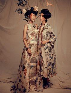 Harper's Bazaar Indonesian August 2015 | Marcella, Katharina & Dianna  | Ryan Tandya