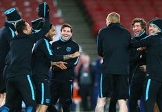 VIDEO: Barcelona's behind-the-scenes footage of Arsenal victory - including Henry meeting Messi