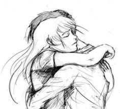 """""""I missed you,"""" he breathed as he scooped her up into his embrace. She held him tight, shutting her eyes to hold back the tears as she whispered back: """"I missed you, too."""""""