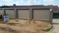 Fence Wall Design, Front Wall Design, House Fence Design, Exterior Wall Design, Modern Fence Design, Bungalow House Design, Gate Design, Boundry Wall, Stone Wall Panels