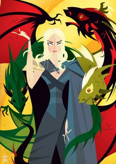 Game of Thrones - Daenerys Targarian by Patricio Oliver