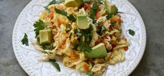 Cabbage and Avocado Salad with Blood Orange Vinaigrette Recipe From AutoImmunePaleo