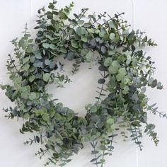 Christmas Wreath - Spiral Eucalyptus Wreath - - - Wholesale Florist Floristry Supplies Loved by Lazy Girl Official Christmas Door Wreaths, Noel Christmas, All Things Christmas, Winter Christmas, Christmas Crafts, Classy Christmas, Modern Christmas, Beautiful Christmas, Eucalyptus Wreath