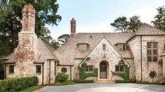 Architect Peter Block gives a brand-new Atlanta home the character and authenticity of a centuries-old manor house, minus the leaky pipes and drafty windows.
