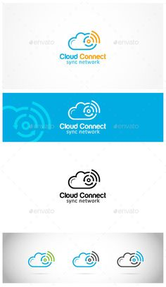 This Is Cloud Logo Template It Stands Out And Instantly Recognizable Perfect For The
