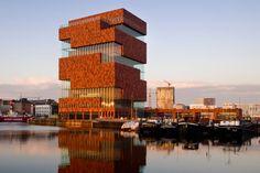 Museum aan de Strom in Antwerp, Belgium