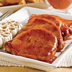 Cotelettes de porc érable et ail - Soupers de semaine - Recettes 5-15 - Recettes express 5/15 - Pratico Pratique