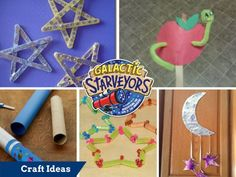 Galactice Starveyors Alternative Craft Ideas for Lifeways VBS 2017 Theme. These ideas are easy and inexpensive and great for any size church.