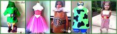 Custom Handmade Baby toddler Kids tutu halloween Costumes by www.BlissyCouture.net