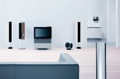 The products from Bang & Olufsen are willing and able to cooperate with all of your available intelligent systems.