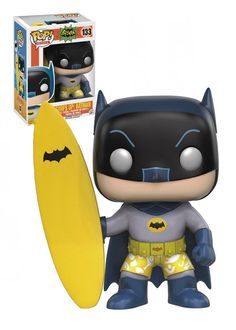 Surfs up Dude !! with the classic 1966 Batman surfs up pop! vinyl from funko due out Soon at ROBOT MOON !!