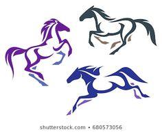 Horse Drawings, Bird Drawings, Running Horses, Horse Love, Horse Art, Metal Art, Line Art, Stencils, Illustration Art