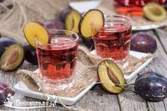 СЛИВОВЫЕ НАЛИВКИ И ВИНА  (10 рецептов)    1. Наливка из слив с водкой…