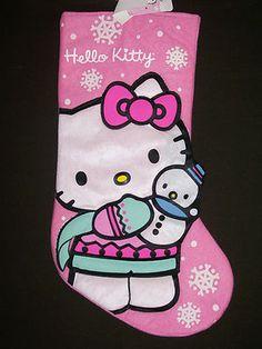 Hello Kitty #Christmas stocking